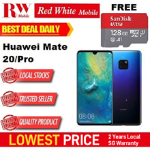 Huawei Mate 20 / Pro  Free Huawei Weighing Scale - 2 Year Local Huawei Warranty
