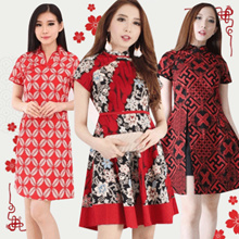 [Buy2FreeDelivery][ NEW !! 17 JAN ]CNY COLLECTION - Cheongsam - Imlek - Baju Couple - Chinese New Ye