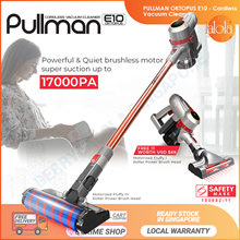 HOT! [▼-$55.00 ]PULLMAN Oktopus E10 Cordless Vacuum Cleaner Handheld Stick | Safety Mark