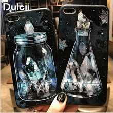 iPhone8 iPhone7 Embossed PC TPU Hybrid Kickstand Mobile Phone Case Bottle Cover iPhone 8 7 Plus