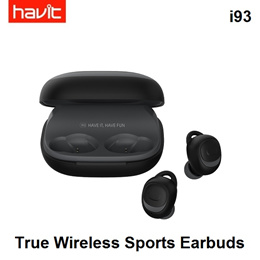 HAVIT i93 True Wireless Bluetooth 2200mAh Charging Case Powerbank iPX5 Earphones Earbuds Headphones