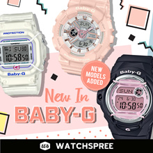*APPLY SHOP COUPON* BABY-G NEW IN 2019 COLLECTION. Free Shipping and 1 Year Warranty.