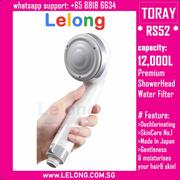 Toray RS52 Torayvino Dechlorinating Shower Head Water Purifier Torayvino Showehead Filters