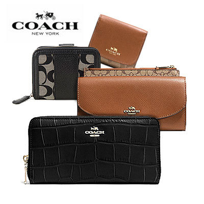 buy popular 2205c a41f3 Coach100% Authentic COACH WALLET BEST COLLECTION F51774 F52628 F53562  F53708 F53836 F53837