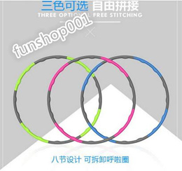 Foam Hula hoop thin belly waist women lose weight increase removable hula hoop fitness weight ring
