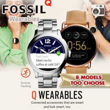 Best Price FOSSIL Q TOUCHSCREEN Smart Watch .Activity Tracking / Touch Screen LOCAL WARRANTY