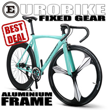 EUROBIKE FIXED GEAR STANDARD FIXIE FRAME HEXAGRAM FRAME
