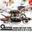 OX-933 [12+2PCS ECO COOKWARE SET]★OXONE★PANCI★STAINLESS STEEL★