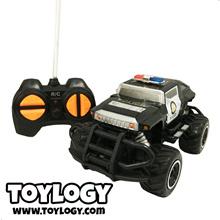 Mainan Remote Control RC Mobil Police Hummer Bigfoot 1:43 Mini Car