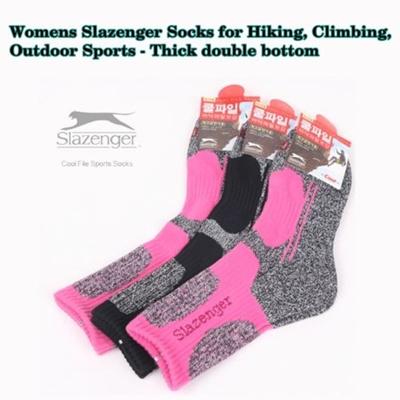 5 Pairs Slazenger Womens Socks for Hiking//Climbing//Outdoors Sport Coolmax