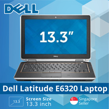 [Refurbished] Dell Latitude E6320 Laptop - Intel i7 / 4GB RAM / 160GB HDD / Win 7 / 1 Mth warranty