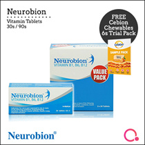 [MERCK] Neurobion Vitamin Tablets 30s / 90s