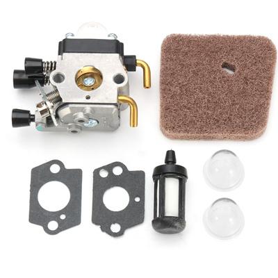 Carburetor Carb Air Fuel Filter Kit For Stihl Weedeater FS74 FS75 FS76 on