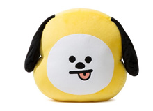 BANGTAN BOYS BTS BT21 NAVER GOODS JIMIN CHIMMY 30cm FACE CUSHION + DUST BAG