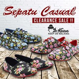 CLEARANCE SALE !! - SEPATU WANITA - SEPATU CASUAL - BEST SELLING PRODUCT