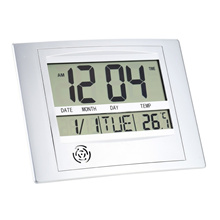 Multi-function Electronic Temperature Meter Digital Calendar Wall Clock Alarm Clock