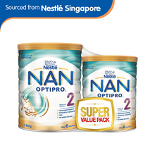 Nestlé® NAN® OPTIPRO® 2 Follow-up Formula 800g + 400g