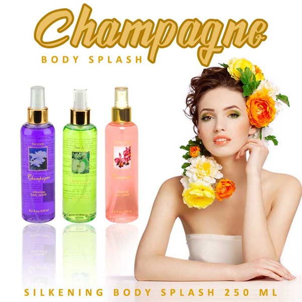 New Varian Champagne Silkening Body Splash 250 ML Deals for only Rp90.000 instead of Rp125.000