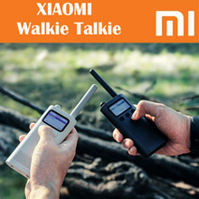 💖LOCAL SELLER💖[Xiaomi Mi Walkie Talkie] / UHF / VHF / Standby 8 days / Inbuilt FM - EXPORT SET