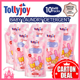 Tollyjoy Baby Laundry Detergent Refill Pack CARTON DEAL (10packs)