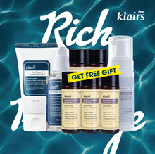 [klairs] Rich Moist Package_ Foaming Cleanser + Soothing Serum+Soothing Cream+Mask Sheet 10+5(free)