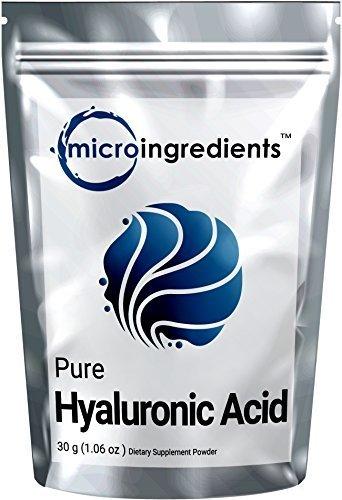 Micro Ingredients Pure Hyaluronic Acid Serum Powder (High Molecular Weight)  Skin Wrinkle Renewal