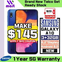 (Brand New Local Set) Samsung Galaxy A10 2019 2GB+32GB l 1 Year Samsung Singapore Warrnaty
