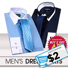 ⭐BUY 2 GET A Tie FREE⭐ High Quality Trendy Mens Dress Shirts! Euro Dandy style  Dress Shirts