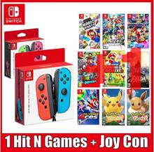 [SUPER EVENT] Nintendo Switch 1HIT Games + Joy Controller Set