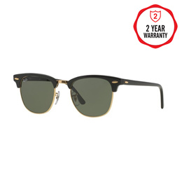 46bac5ce1b6 Ray-Ban Sunglasses Clubmaster - RB3016 W0365 - size 51