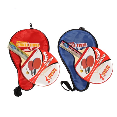 7707593b393f Long Handle Shake-hand Table Tennis Racket Ping Pong Paddle + Waterproof Bag  Pouch