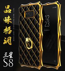 Samsung Galaxy S8、S8 Plus    fashion Lingge Ring Case