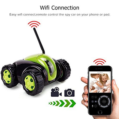 [VGSION] VG-77988 - Car Toy Wireless IP Camera RC Tank App Control with  Megapixel Camera Wireless Po