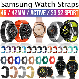 SAMSUNG Galaxy watch 46mm 42mm active gear S3 S2 Sport strap screen protector magentic charger cable