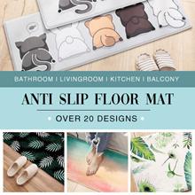*NEW*Anti Slip Floor Mat/Thick Flannel Carpet/Bathroom LivingRoom Kitchen Balcony Door Sofa Area Rug