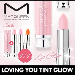 [MACQUEEN] ★1+1★ Loving You Tint Lip Balm / 3 Colors