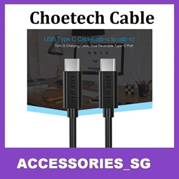 ♣Choetech USB to Type C-Cable Type C-Type C MicroUSB Fast Charging QC 3.0 2.0 ♣ 1 Year Warranty