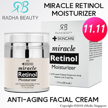 Radha Beauty Miracle RETlNOL Moisturizer Anti-Aging Facial Cream 50ml
