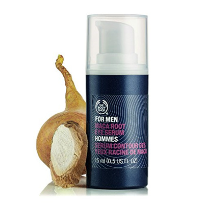 The Body Shop For Men Maca Root Eye Rescue Serum, 0 5-Fluid Ounce  (Packaging May Vary)