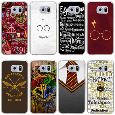 216GH Harry Potter Hogwarts On Wood Hard Cover Case for Samsung Galaxy S3  S3 Mini S4 S4 Mini S5 Mini