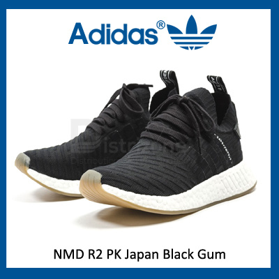 Adidas NMD R2 PK Japan Black Gum (Code: BY9696)