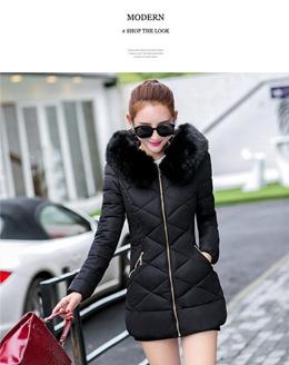 Women Winter  Womens Winter Jackets Womens  Fur Hooded Long Winter Jacket Womens Down Jackets Winter