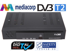 8902 HD Singapore mediacorp dvb t2 terrestrial digital TV receiver dvb-t2 tv tuner