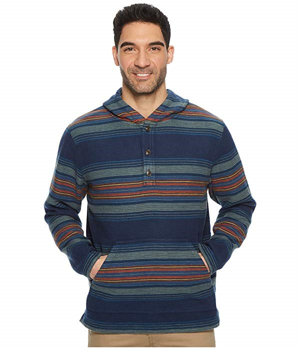 3cd829135399 Qoo10 - Pendleton Serape Stripe Popover Hoodie   Men s Clothing