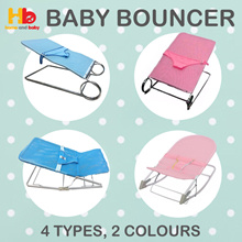 Baby Bouncer | 4 Option | Two Colour | Super Value |