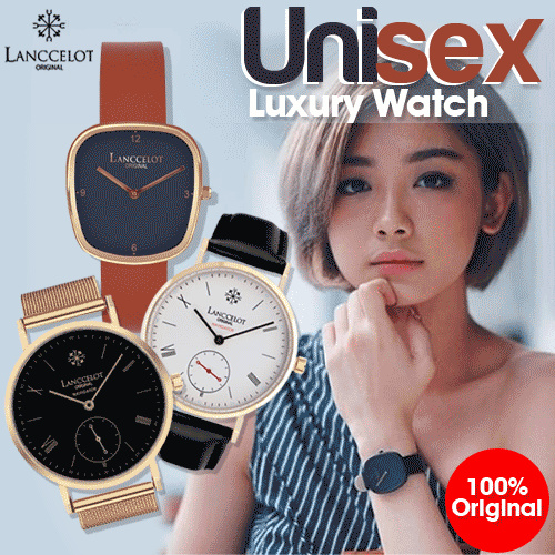 UNISEX LANCCELOT COLLECTION! LUXURY WATCHES WITH AFFORDABLE PRICE! 100% ORIGINAL!