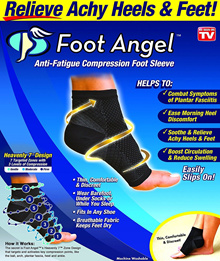 Foot Angel (As Seen On TV) Anti Fatigue Compression Foot Sleeve