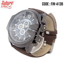 Generic - Jam tangan fashion pria analog - FIN-413B