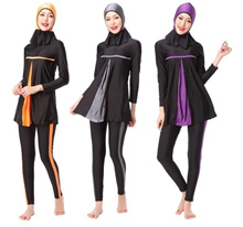 Modest Islamic Swimwear Islamic Swimsuit Women Hijab Swimwear Full Coverage Swimwear Muslim Swimming