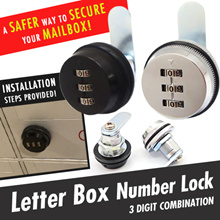 ★SG LOCAL★GENUINE★Premium★HDB Keyless Mail/Letter box Lock ★ Keyless Cabinet Lock ★ Number Lock